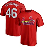 Paul Goldschmidt St.Louis Cardinals MLB Majestic Youth 8-20 Red Official Player Jersey T-Shirt (Youth Large 14-16)