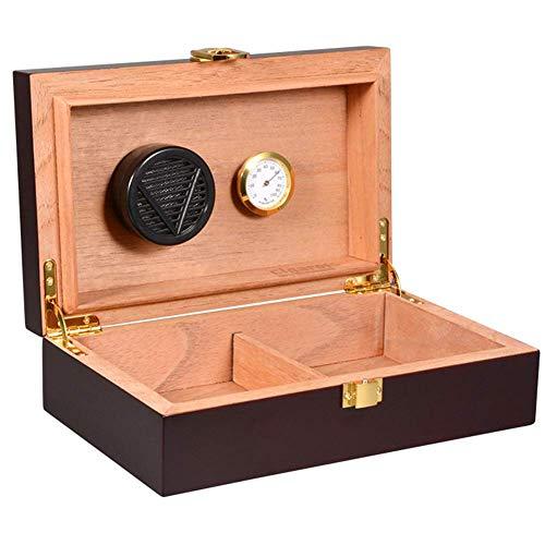 YAOSHI Cave à cigares Cave à cigares avec Digital hygromètre et Humidifier Conservazione Dei sigari