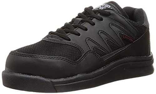 [ノサックス] ワークシューズ 安全靴 作業靴 耐滑プロテクティブスニーカー JSAA規格A種 耐滑 先芯入り GK Safety メンズ ブラック 25.0 cm 3E