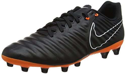 Nike Tiempo Legend VII Academy, Scarpe da Calcio Uomo, Nero (Nero/Nero/Bianco/Total Arancione 080), 41 EU