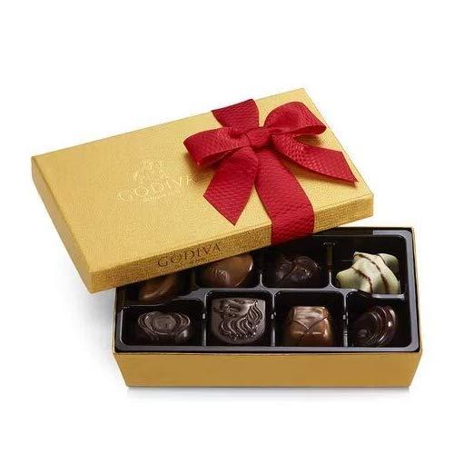 Godiva Chocolatier 8PC HOLIDAY/VDAY BALLOTIN