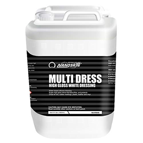 High Gloss Water Based, Silicone White Tire Dressing
