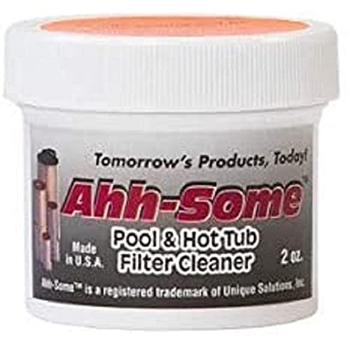 Ahh-Some Pool & Hot Tub Filter Instant Cartridge Cleaner | Removes...