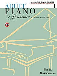 Piano Teacher Birmingham - Faber Adult Piano Adventures Level 1 Lesson Book