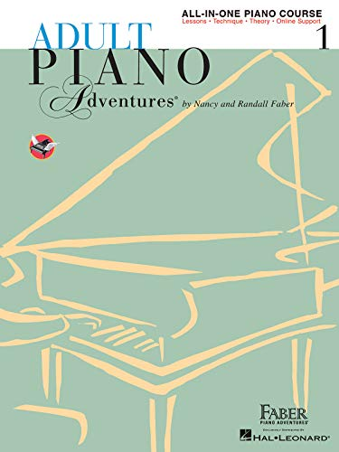 Adult Piano Adventures All-in-One Piano Course Book 1:...