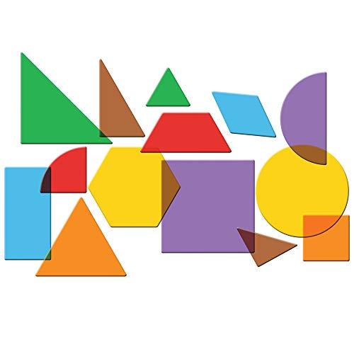 ラーニングリソーシズ算数教材図形パターン透明408個入りLER1766正規品