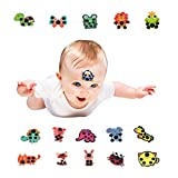 Forehead Temperature Thermometer Strips,Instant Read Cartoon Random Mix Patterns Disposable Fever Thermometer Strip,Adhesive Checking Thermometer Strip of Children/Infants/Kids (16 PCS)
