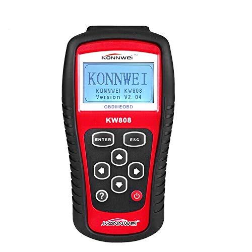 KONNWEI OBD2 Diagnosegerät Scanner Auto Codeleser Diagnosegerät Werzeug Professioneller OBDII EOBD Auto Scanner KW808
