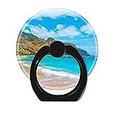 NSNNS Soporte Giratorio de 360 Grados con Hebilla para Anillos, Multifuncional, Soporte de Anillo para teléfono Universal Tenerife Beach Holiday