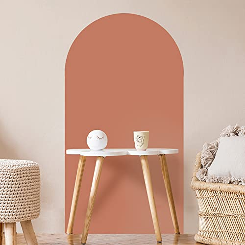 Arch Wall Decal Boho Wall Decor Wall Stickers and Mural Boho Wallpaper Arch Accent Wall Peel and...