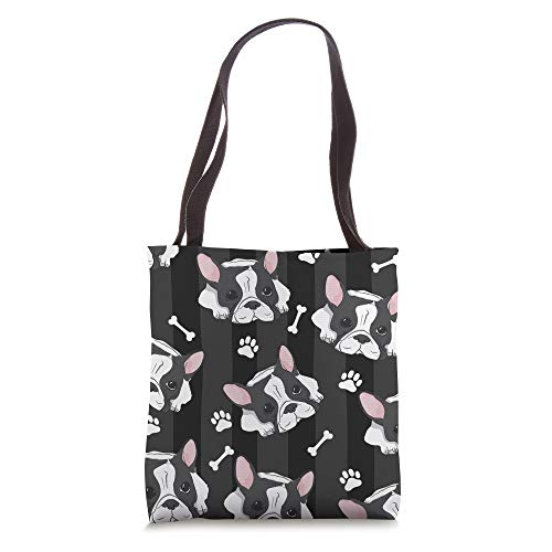 Cute French Bulldog Frenchie Dog Lover Gift Women Girl Tote Bag