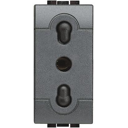 BTicino Living L4180 Presa Bipasso 10 Ampere