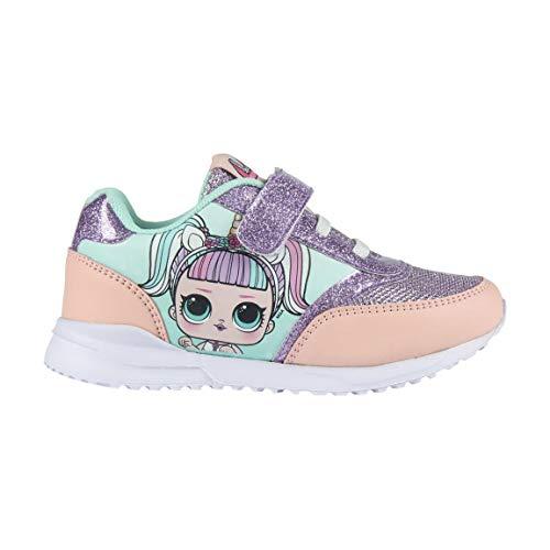 L O L Surprise! | Zapatos Niñas | Zapatillas Deporte | Bellamente Diseñados | La última Tendencia! | Su Muñeca Favorita! | Zapatillas Brillantes! | (32 EU, Zapatos Muñeca Unicornio)