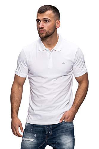 JACK & JONES Herren Poloshirt Polohemd Shirt Basic Polo Taxis (XXX-Large, Cloud Dancer / 2)