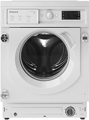 Hotpoint BIWMHG81484 8kg 1400rpm Integrated Washing Machine - White