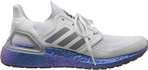 adidas Ultraboost 20, Zapatillas para Correr para Hombre, Dash Grey/Grey Three F17/Boost Blue Violet Met, 42 2/3 EU
