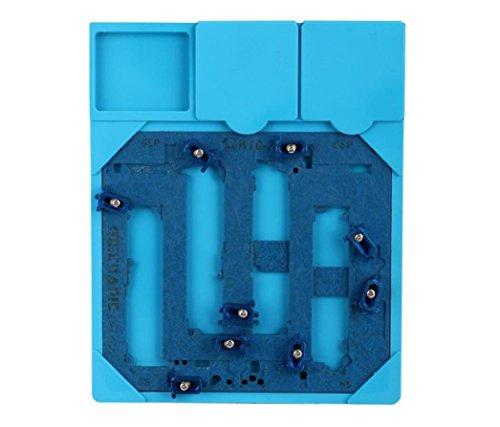 PCB Halter Reparatur Jig Fixture Arbeitsstation Logic Board A9 Chip Reparatur-Tools Für iPhone 6S 6SP mit Wärmedämmung Pad