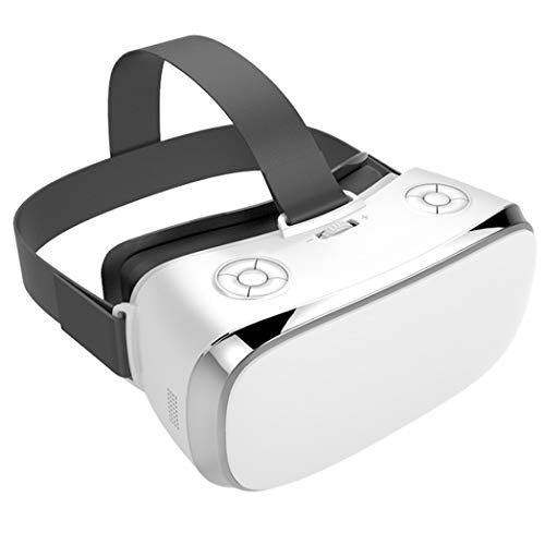 JCSW VR Headsets, Bluetooth Connection VR All-In-One Screen of 5.5 Inches, 3D virtual reality Headset for Games, movies, travel, play, etc. O089XB