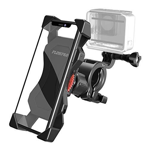 Fahrrad Handyhalterung, Fahrrad Motorrad Handy Halterung kompatible Kamera Lenker Halter Mit 360 Drehen für alle GoPro Kamera Modelle/Aktion mit anderen 4,5 -7 Zoll Smart Phones Fahrradhalter