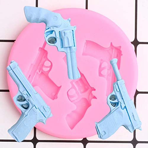Molde de Silicona de Juguete Moldes de decoración para Cupcakes DIY Herramientas de decoración de Pasteles de cumpleaños Molde de Pasta de Goma de Chocolate y Caramelo