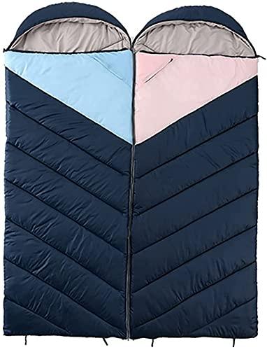 BDRSLX 2 Pezzi PACIA SLEEDAN Bag 2000G 3-4 può Essere giuntato ? Seasons Sacco a Pelo Campeggio Camera da soffitto a soffitto Caldo Accendino Trekking Sacco a Pelo Viaggio Viaggio