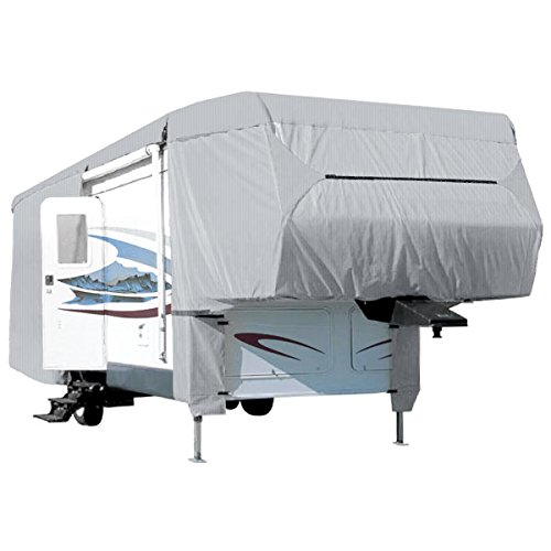 North East Harbor Waterproof Superior 5th Wheel Toy Hauler RV Motorhome Cover Fits Length 26