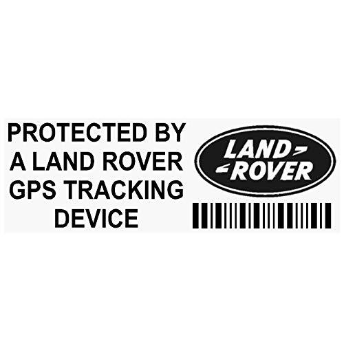 5x pplandrovergpsblk GPS Schwarz Tracking Gerät Sicherheit Fenster Aufkleber 87x 30mm-car, Van Alarm Tracker