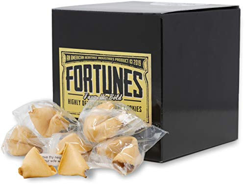 Fortunes Favor the Bold- 19 Pack of Offensive Fortune Cookies 1st Edition, by American Heritage Industries