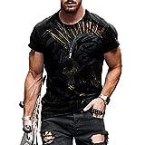 SSBZYES Camisetas para Hombre Camisetas De Gran Tamaño Camisetas De Manga Corta Camisetas Sueltas Informales para Hombre Cuello Redondo Camisetas De Manga Corta Estampadas con Cuello Redondo