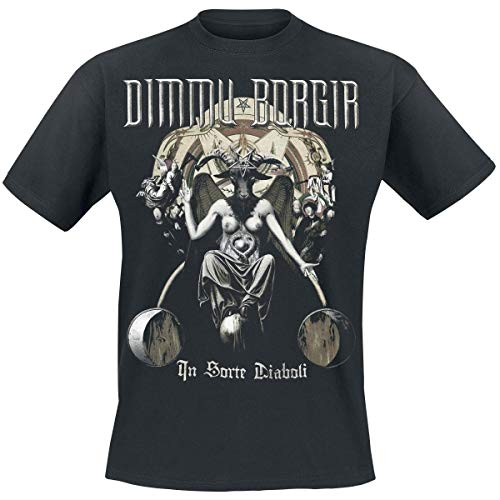 Brand Men Tshirts In Sorte diaboli Dimmu Borgir T-Shirt Short Sleeve Graphic T-Shirt Printed T Shirt