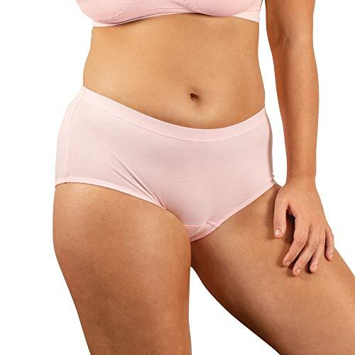 [Conni]レディース・アクティブ(10, ピンク)尿漏れパンツ 軽失禁対応(150?180cc) 女性用下着 おしゃれショーツ