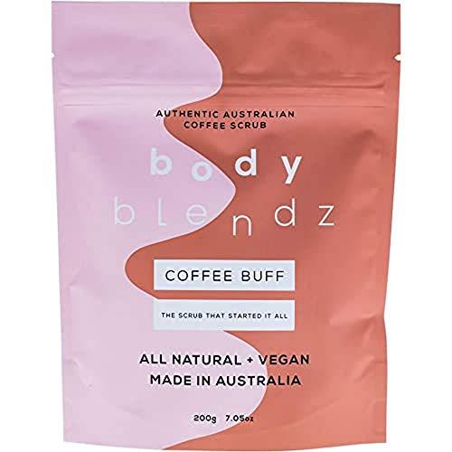Body Blendz Coffee Scrub – Natürliches Kaffee Peeling Gegen Cellulite Und Dehnungsstreifen – Pflegendes Körperpeeling Für Ein Glattes Und Reines Hautgefühl Für Männer Und Frauen