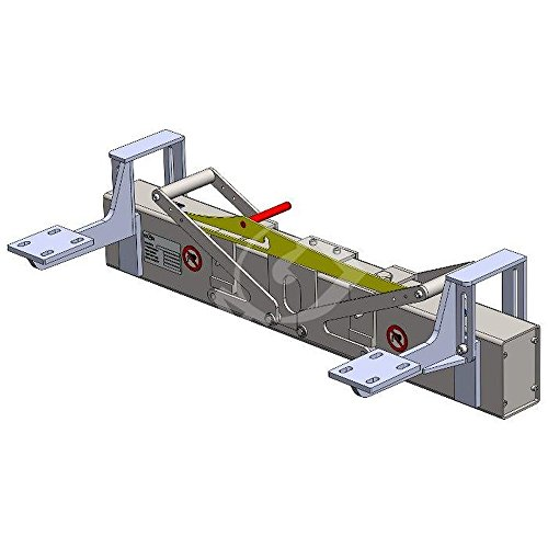 Lagerino - Magnetbesen für Elektroschlepper und Kehrmaschinen - Breite 800 mm - zur nachträglichen Montage