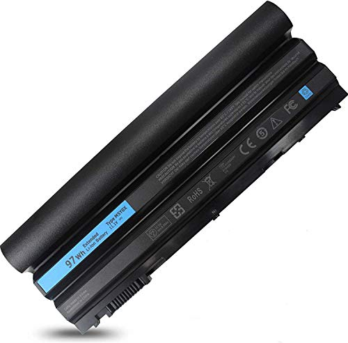 97Wh 9cell T54FJ New Laptop Battery for Dell Latitude E6420 E6430 E6520 E6530 E5420 E5520 E5430 E5530, fit M5Y0X 2P2MJ 312-1325 312-1165 PRV1Y