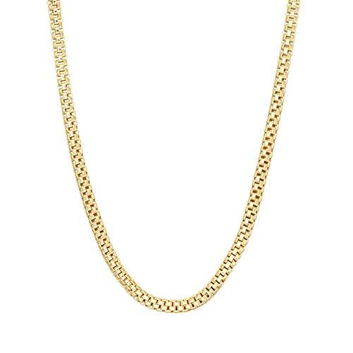 14k yellow gold popcorn chain - 4
