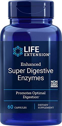 Life Extension, Super Digestive Enyzmes ( Verdauungsenzyme ), 60 vegetarische Kapseln