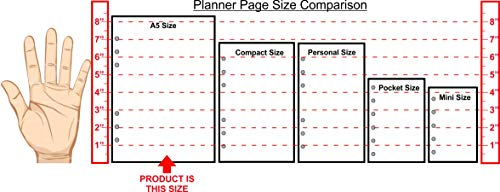 """A5 Size Payment/Expense Record and Check Register Pages, Sized and Punched for 6-Ring A5 Notebooks by Filofax, LV (GM), Kikki K, TMI, and Others. Sheet Size 5.83"""" x 8.27"""" (148mm x 210mm)"""