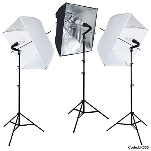 Linco Lincostore Flora LED 1680 Super Bright Photography Light for Photo,Film,and Video Studio Lighting kit AM181