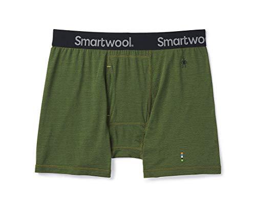 Smartwool Merino 150 Pattern Boxer Brief Charcoal LG