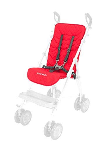 Revestimiento Maclaren Major: diseñado para sillas de transporte para necesidades especiales. Agregue comodidad adicional a la longitud total del asiento. Se adapta fácilmente a Maclaren Major Elite