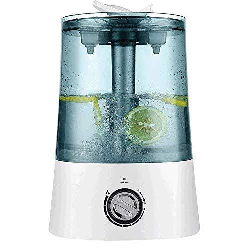 Mopoq Humidificador de vapor frío for el dormitorio - 7L silencioso humidificador ultrasónico, simple y salida de vapor ajustable, sin agua de apagado automático, 7