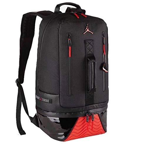 Jordan New Other Retro 11 - Zaino da basket Nero Black/Gym Red One Size