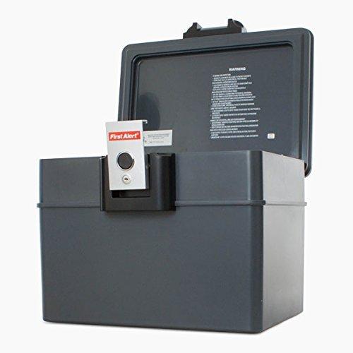 safelincs fa2037First Alert Fire und wasserdichte Box für Papier/Digital Media, Grau