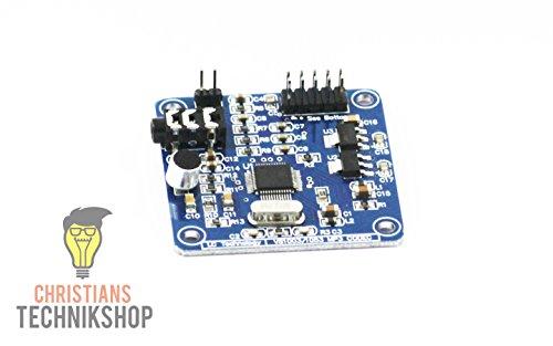MP3 Arduino Shield - VS1003/1053 Codec MP3 Modul für Arduino mit SPI-Schnittstelle | Christian's Technikshop