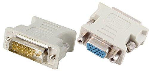 DVI VGA 変換アダプタ DVI-D 24+1 オス VGA メス
