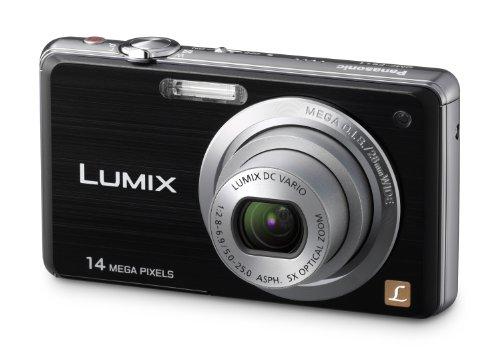 Panasonic LUMIX DMC-FS11EG-K Digitalkamera (14 Megapixel, 5-fach opt. Zoom, 6,86 cm Display, Bildstabilisator) schwarz