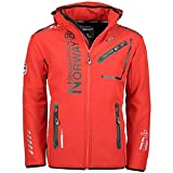 Geographical Norway ROYAUTE MEN - Chaqueta Softshell Impermeable Hombre - Capucha Transpir...