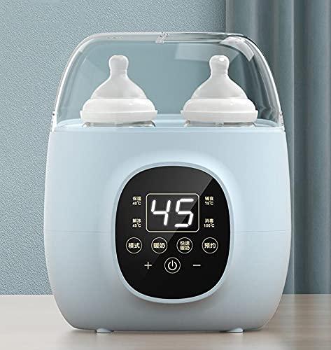 XUANDONG Máquina de Leche Caliente de Temperatura Constante/Máquina de desinfección Inteligente del Calentador,Multifunción Botella Eléctrica Calentador 4 En 1 Calentador De