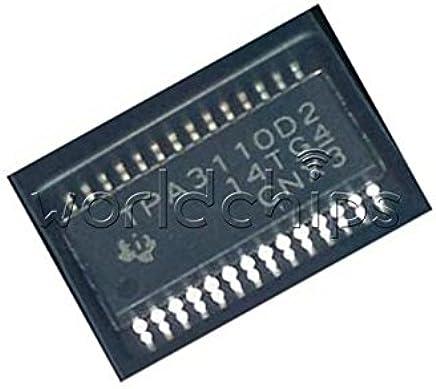 1//2//5pcs TPA3110D2 TPA3110 TI 15-W FILTER-FREE STEREO CLASS-D