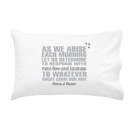 Oh, Susannah LDS Missionary Gift Missionary Pillow Case Religious Gift Religious Pillow Case Missionary Farewell Gift Sister Missionary Gift Grey Black (One 20x30 Standard/Queen Size Pillowcase)